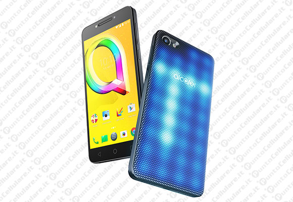 Alcatel A5 LED - lo smartphone con cover LED interattiva è disponibile in Italia