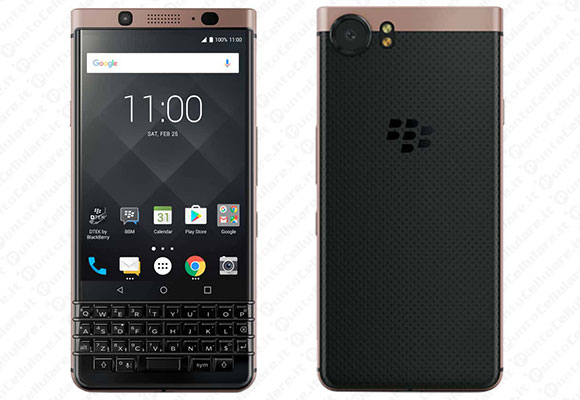 BlackBerry KEYone - la Bronze Edition annunciata al CES 2018