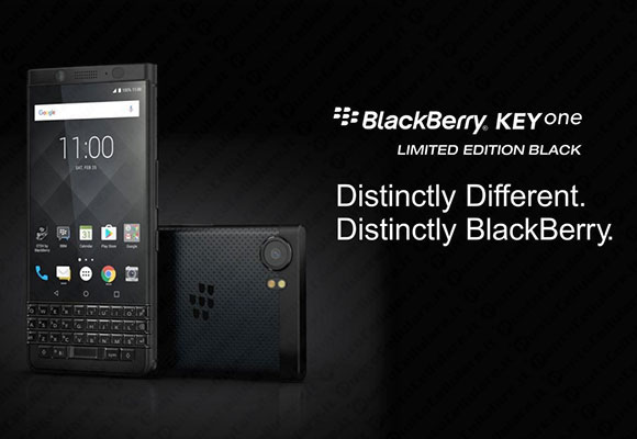 BlackBerry KEYone - la Limited Edition Black ha 4GB di RAM e 64GB di memoria