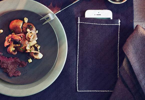 Da ikea le tovagliette con la tasca portacellulare for Ikea tovagliette