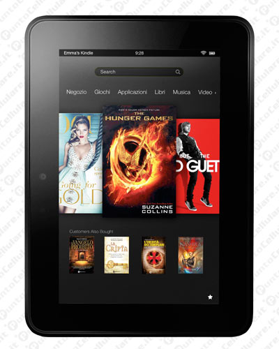 Amazon annuncia il nuovo Kindle Fire HD