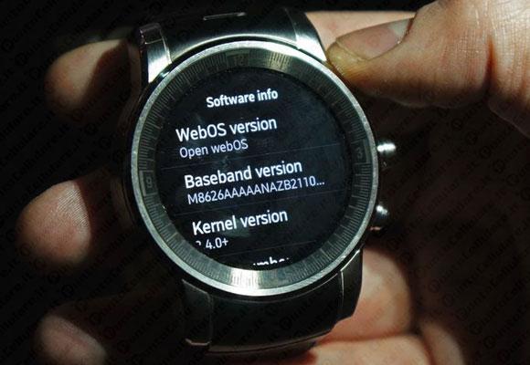 Lo smartwatch di LG per Audi utilizza webOS come sistema ...