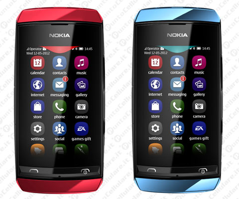 Nokia Asha 305 e Nokia Asha 306 - due economici cellulari touchscreen