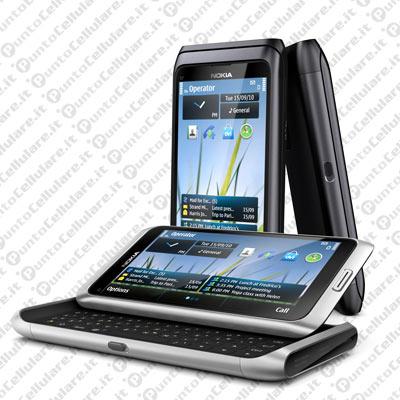 Nokia e7 ecco il primo smartphone symbian 3 con - Smartphone con tasti ...