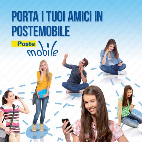 Postemobile al via la promozione 39 porta un amico in for Poste mobili 0 pensieri small