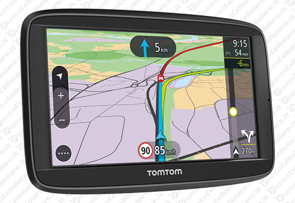 tomtom lancia i navigatori via 52 e via 62 con vivavoce bluetooth. Black Bedroom Furniture Sets. Home Design Ideas