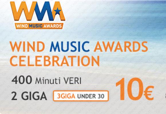 Wind Music Awards e RTL 102.5: via alla festa della musica