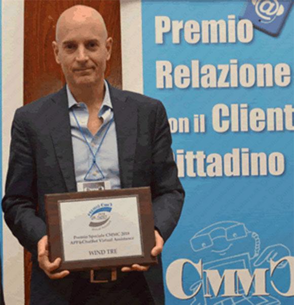 Wind Tre - il premio speciale di CMMC per 'Area Clienti 3 ...