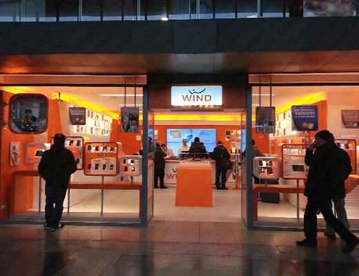 Wind - un nuovo negozio a Roma alla stazione Termini - PuntoCellulare.it