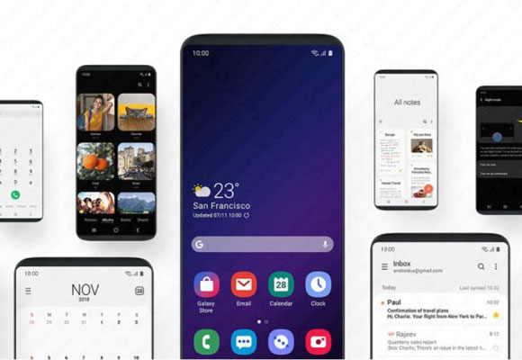 galaxy s8 galaxy note 8 one ui