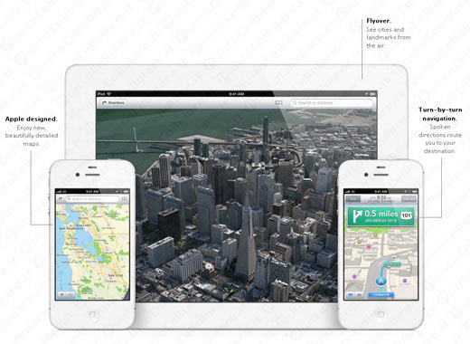 iOS 6 - il Codacons contro Apple per le mappe su iPhone e iPad sballate
