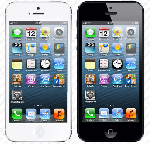 iPhone 5 - annunciato finalmente l'ultimo smartphone di Apple