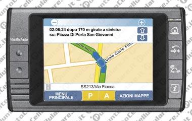 mappe navigatore viamichelin