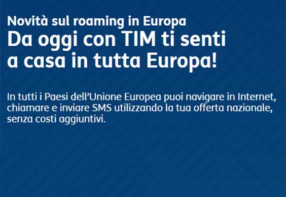 Tim Roaming Europa