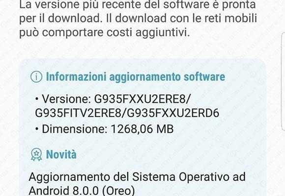 Samsung Galaxy S7 e Galaxy S7 Edge ricevono Android 8 0 Oreo